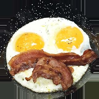 american's breakfast